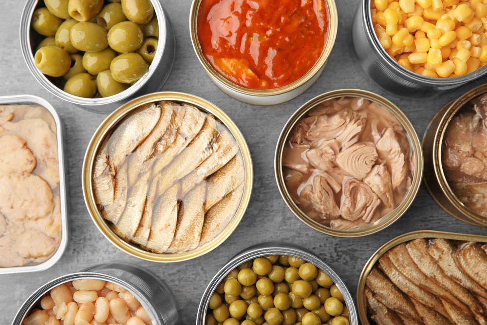 imballaggi metallici per alimenti